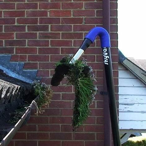 Gutter Clearing Moss