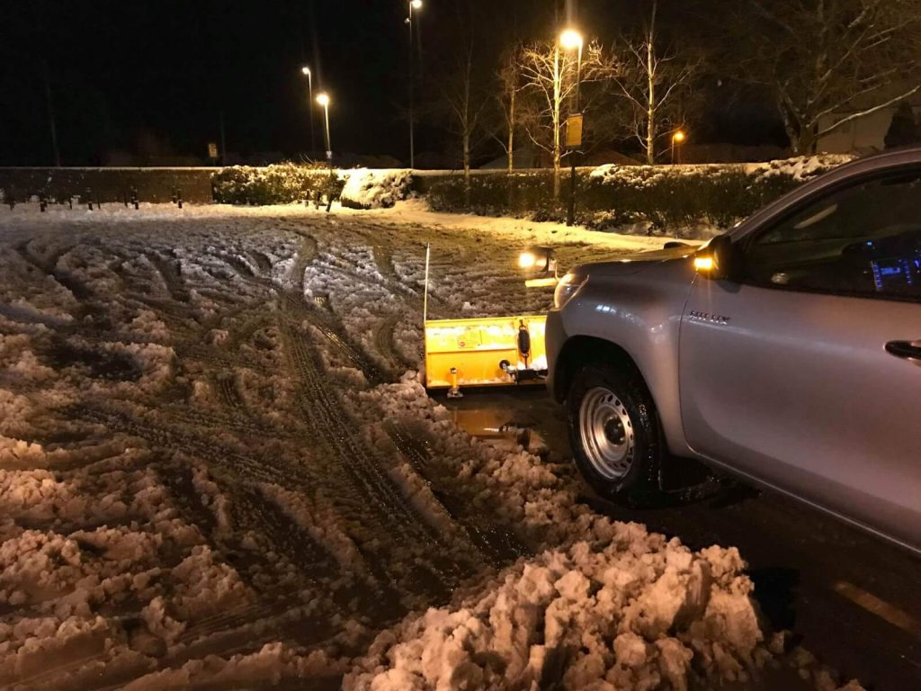 Snow Clearing Side